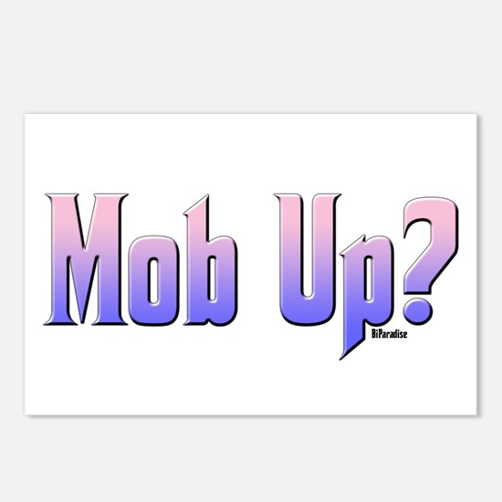 Mob Up? Color Postcards (Package of 8)