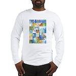 Slated Watercolor Long Sleeve T-Shirt