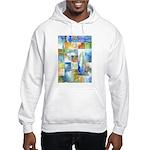 Slated Watercolor Hooded Sweatshirt
