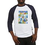 Slated Watercolor Baseball Jersey