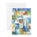 Slated Watercolor Greeting Card