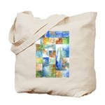 Slated Watercolor Tote Bag