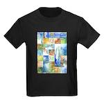 Slated Watercolor Kids Dark T-Shirt