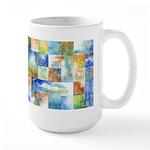 Slated Watercolor Large Mug