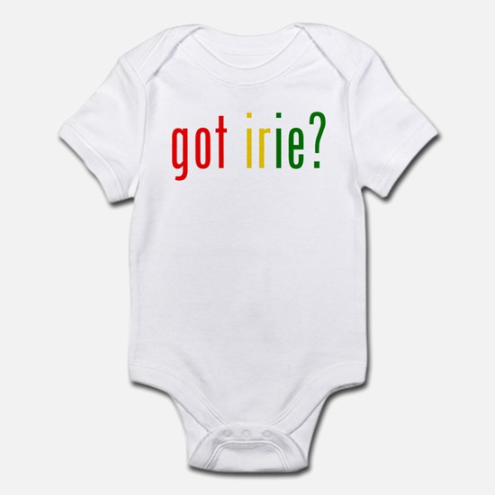 got irie? Infant Bodysuit