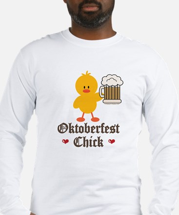 Oktoberfest Chick Long Sleeve T-Shirt
