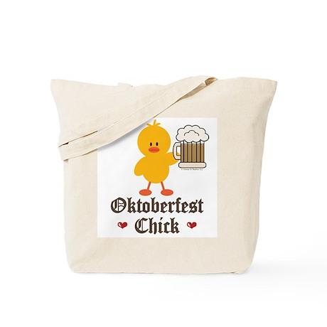 Oktoberfest Chick Tote Bag