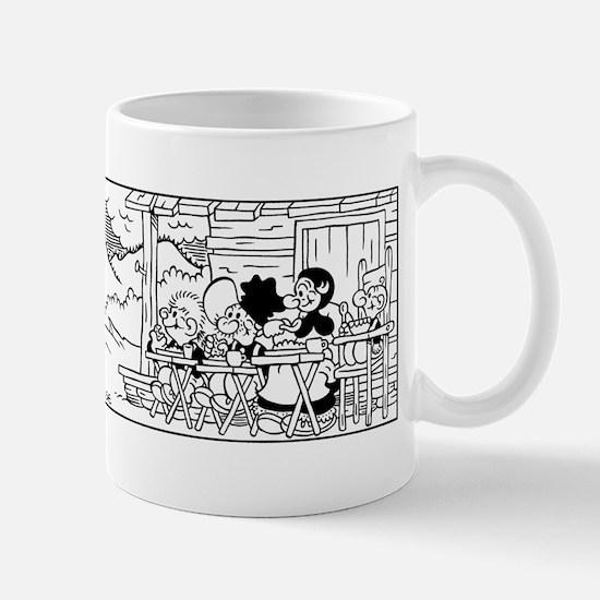 TV Tray Sunset Mug