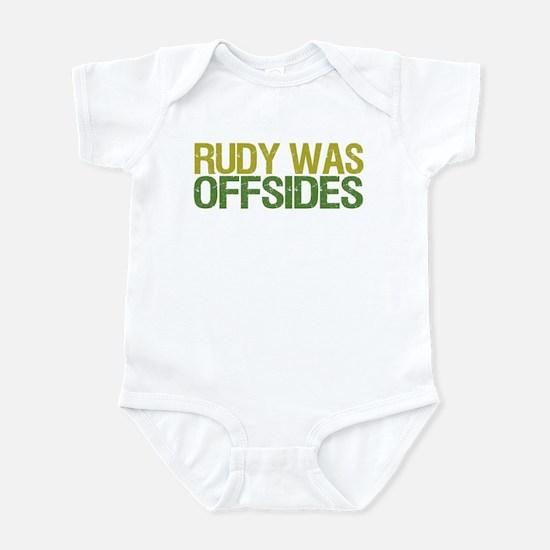 Rudy Was Offsides Infant Bodysuit
