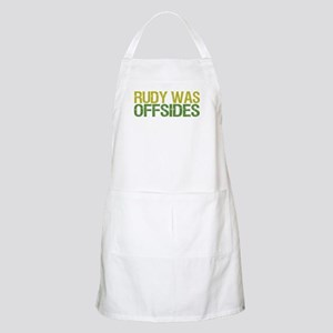 Rudy Was Offsides BBQ Apron