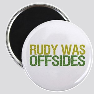 Rudy Was Offsides Magnet