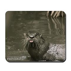 """Oscar The Otter"" Mousepad"