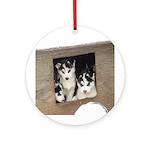 puppies Ornament (Round)