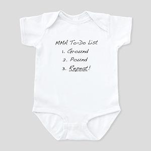 MMA To-Do List Infant Bodysuit