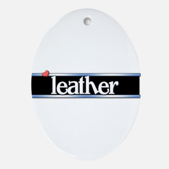 Leather Ornament (Oval)
