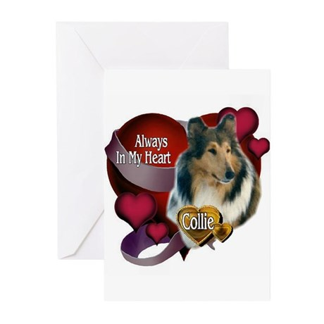 Rough Collie Gifts Greeting Cards (Pk of 10)