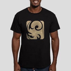 Shanti Yoga Men's Fitted T-Shirt (dark)