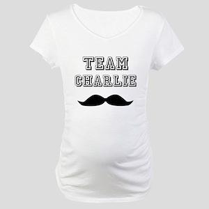 Wmn_plusv_front Maternity T-Shirt