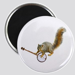 Squirrel with Banjo Magnet