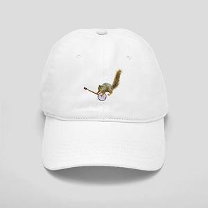 Sqiurrel with Banjo Cap