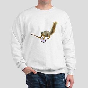 Squirrel with Banjo Sweatshirt