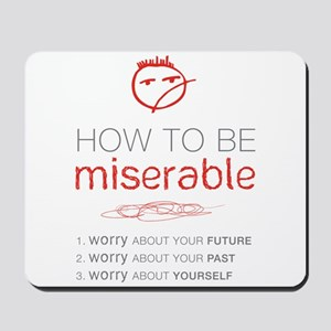 Miserable Mousepad