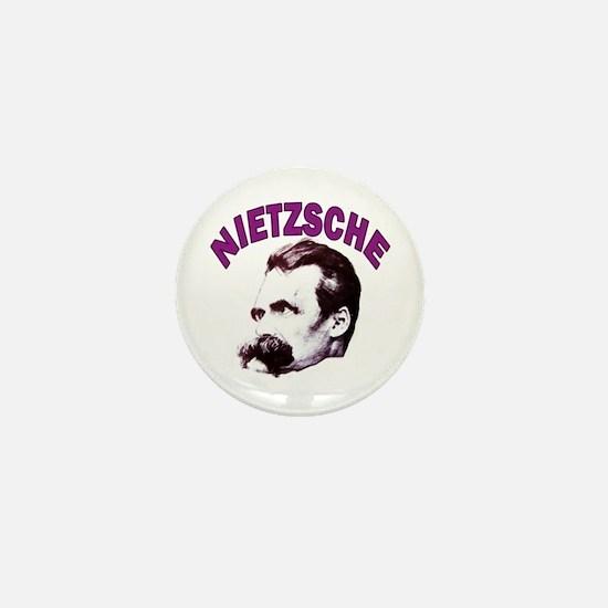 Nietzsche Mini Button