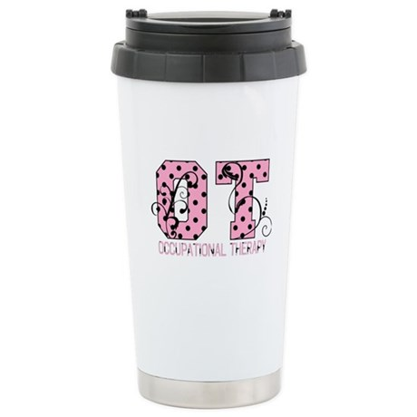 Lots of Dots Stainless Steel Travel Mug