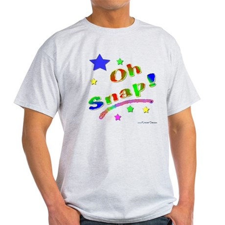 Oh Snap Stars Light T-Shirt