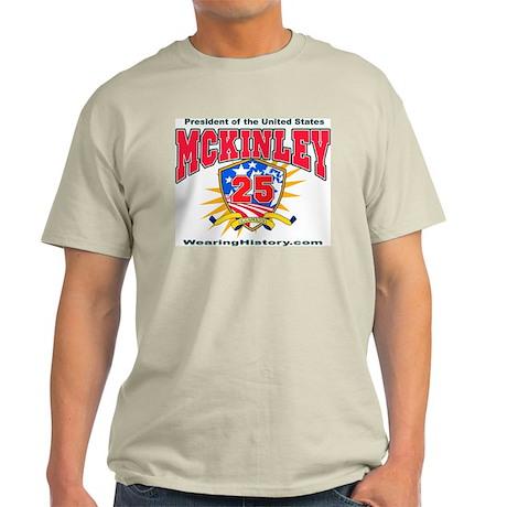 William McKinley Light T-Shirt