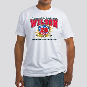 Woodrow Wilson Fitted T-Shirt
