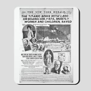 New York Herald Mousepad
