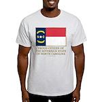 Proud Citizen of North Carolina Light T-Shirt