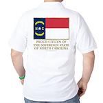 Proud Citizen of North Carolina Golf Shirt