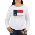 Proud Citizen of North Carolina Women's Long Sleev