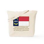 Proud Citizen of North Carolina Tote Bag