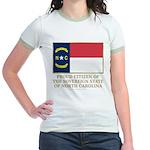 Proud Citizen of North Carolina Jr. Ringer T-Shirt