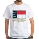 Proud Citizen of North Carolina White T-Shirt