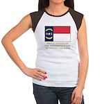 Proud Citizen of North Carolina Women's Cap Sleeve