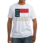 Proud Citizen of North Carolina Fitted T-Shirt