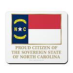 Proud Citizen of North Carolina Mousepad