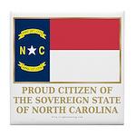 Proud Citizen of North Carolina Tile Coaster