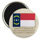 Proud Citizen of North Carolina Magnet