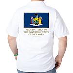New York Proud Citizen Golf Shirt