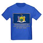 New York Proud Citizen Kids Dark T-Shirt