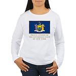New York Proud Citizen Women's Long Sleeve T-Shirt