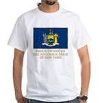 New York Proud Citizen White T-Shirt