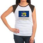 New York Proud Citizen Women's Cap Sleeve T-Shirt
