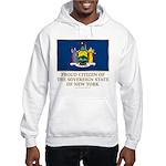 New York Proud Citizen Hooded Sweatshirt