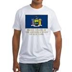 New York Proud Citizen Fitted T-Shirt